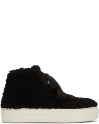 Zapatillas altas negras de Helmut Lang