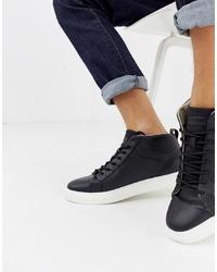 Zapatillas altas negras de Jack & Jones