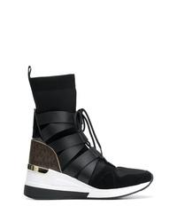 Zapatillas altas negras de MICHAEL Michael Kors