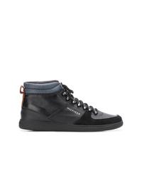 Zapatillas altas negras de Tommy Hilfiger