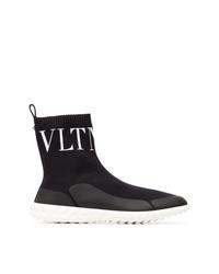 Zapatillas altas negras de Valentino