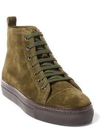 Zapatillas altas verde oliva original 539172