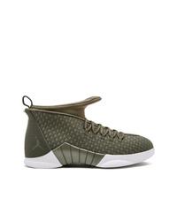 Zapatillas altas verde oliva de Jordan