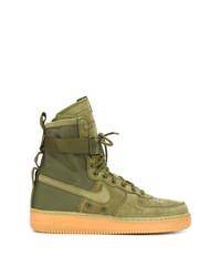 Zapatillas altas verde oliva de Nike