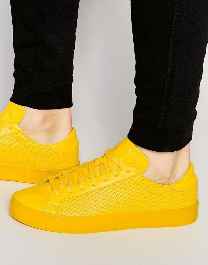 2zapatillas amarillas adidas hombre