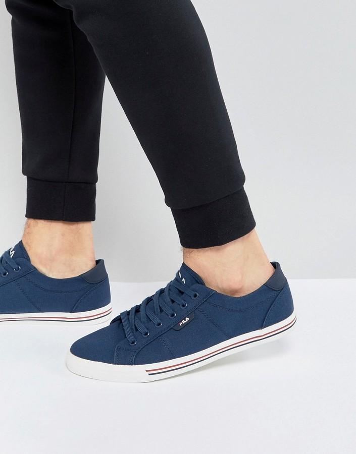 28cd702906c ... Zapatillas azul marino de Fila ...