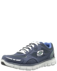 Zapatillas azules de Skechers