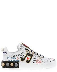 Zapatillas Blancas de Dolce & Gabbana