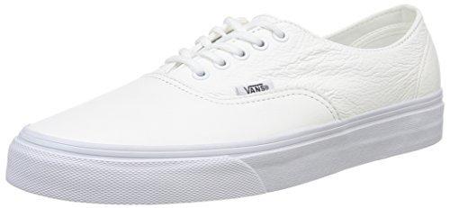 zapatillas vans blancas y negras