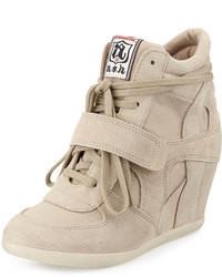0e993af24323a Cómo combinar unas zapatillas con cuña (59 looks de moda)