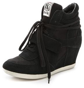 78394f65 Zapatillas con cuña de ante negras de Ash, €174 | shopbop.com ...