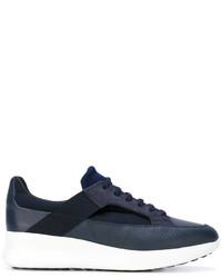 Zapatillas de Ante Azul Marino de Salvatore Ferragamo