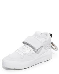 Zapatillas de ante blancas de MSGM