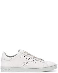 Zapatillas de ante blancas de Tod's