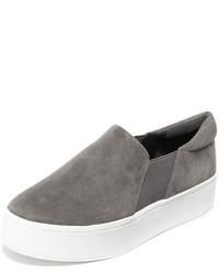 Zapatillas de ante grises de Vince