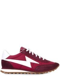 Zapatillas de ante morado oscuro de Marc Jacobs