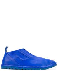 Zapatillas de cuero azules de Marsèll