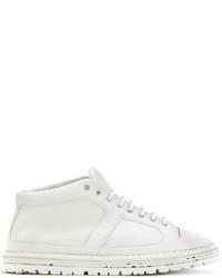 Zapatillas de cuero blancas de Marsèll