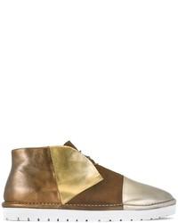 Zapatillas de cuero marrónes de Marsèll