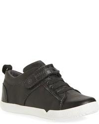 Zapatillas de cuero negras