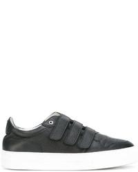 Zapatillas de cuero negras de AMI Alexandre Mattiussi