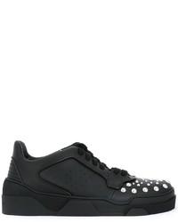 Zapatillas de cuero negras de Givenchy