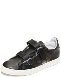 Zapatillas de cuero negras de IRO