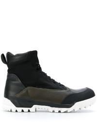 Zapatillas de cuero negras de Stone Island