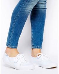 Zapatillas de lona blancas de Keds