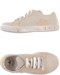 Zapatillas en beige