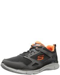 Zapatillas en gris oscuro de Skechers