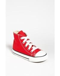 Zapatillas en rojo y blanco