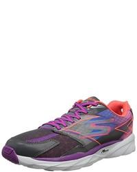 Zapatillas en violeta de Skechers