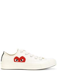 Zapatillas Estampadas Blancas de Comme des Garcons