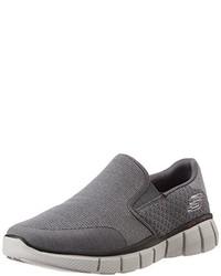 Zapatillas grises de Skechers