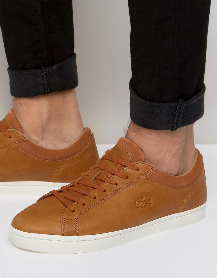 Lacoste Zapatillas brown sX24O6Ay0