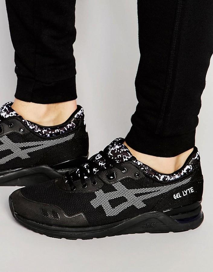 223172633 ... Zapatillas negras de Asics ...
