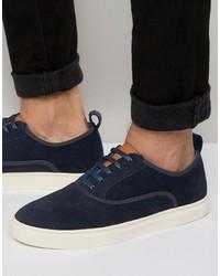 Zapatillas plimsoll azul marino de Ted Baker