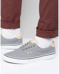 Zapatillas plimsoll grises de Vans