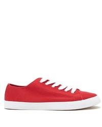 Zapatillas plimsoll rojas original 2034015