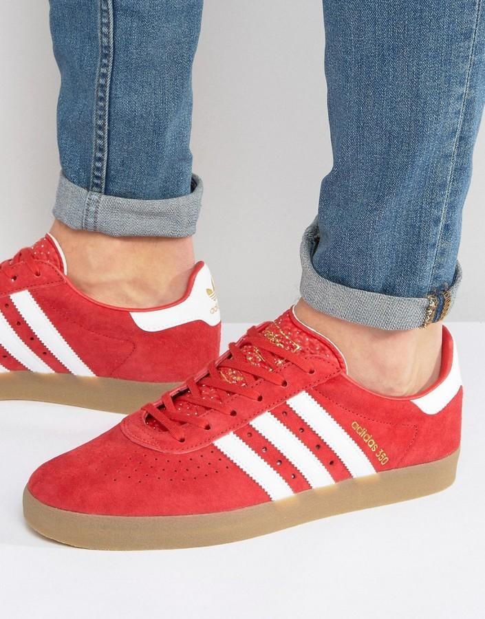 zapatillas rojos adidas
