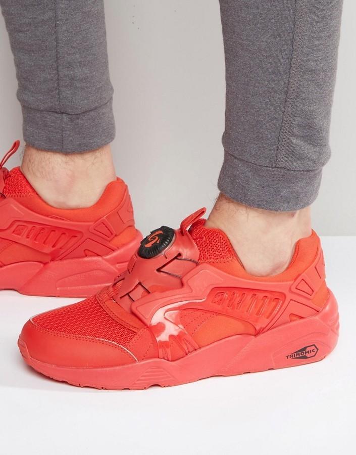 b5bd18dec6a ... Zapatillas rojas de Puma ...