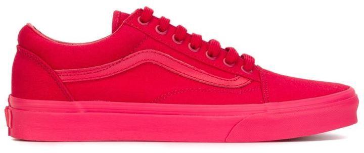 zapatillas rojas hombre vans