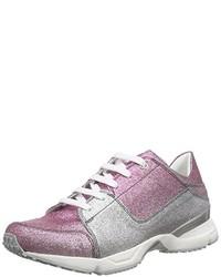 Zapatillas rosadas de Casadei