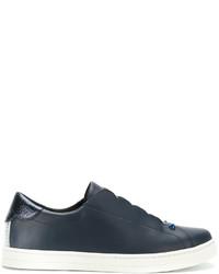 Zapatillas Slip-on Azul Marino de Fendi