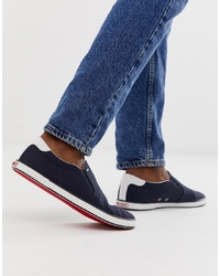 Zapatillas slip-on azul marino de Tommy Hilfiger