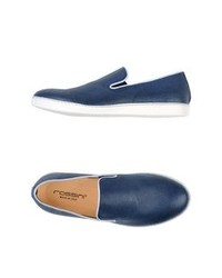 Zapatillas slip on azules original 9744341