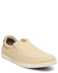 Zapatillas slip on beige original 9745616