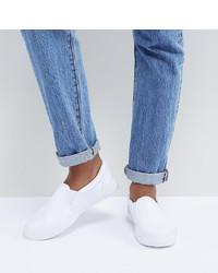 Zapatillas slip-on blancas de ASOS DESIGN