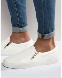 Zapatillas Slip-on Blancas de Asos
